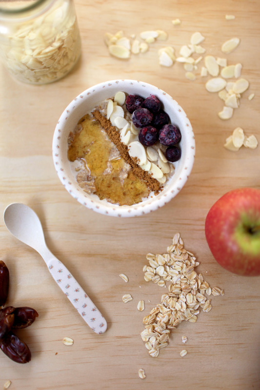 Apple and Date Porridge | She Sows Seeds 2