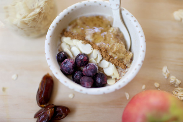Apple and Date Porridge | She Sows Seeds