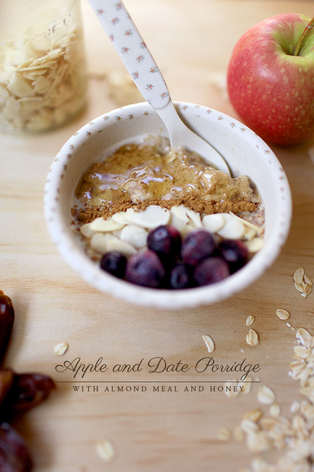 Apple and Date Porridge | She Sows Seeds 7