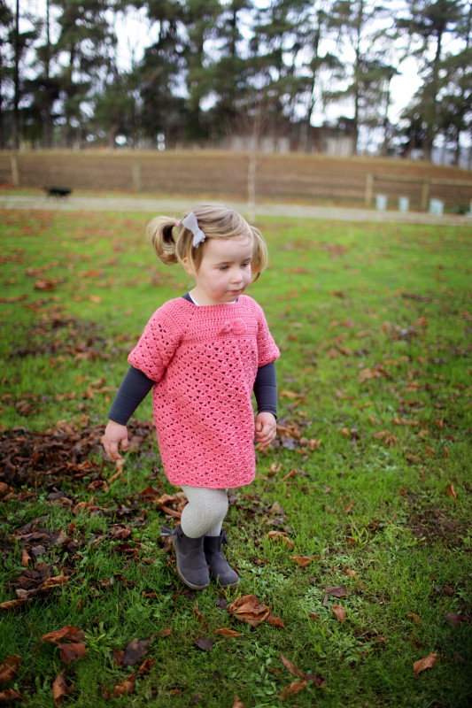 Crocheted Bow Dress | She Sows Seeds 9