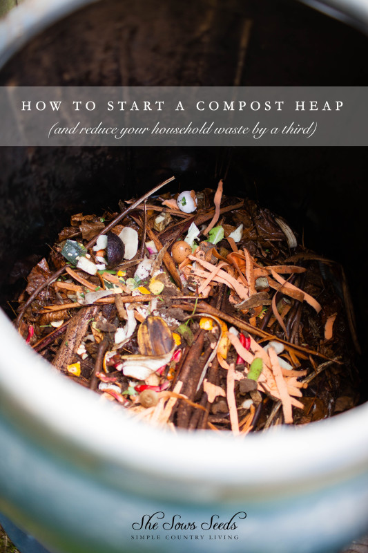 How To Start a Compost Heap | She Sows Seeds 5