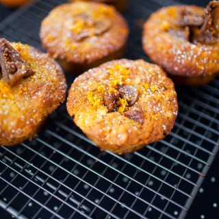 Sugar Free Orange and Fig Muffins