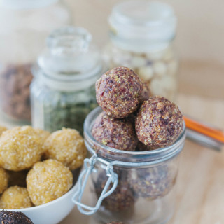 Bliss Balls Three Ways